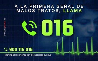 04/02/2020 Teléfono de asistencia 016 para atender situaciones de violencia de género ESPAÑA EUROPA MURCIA SOCIEDAD