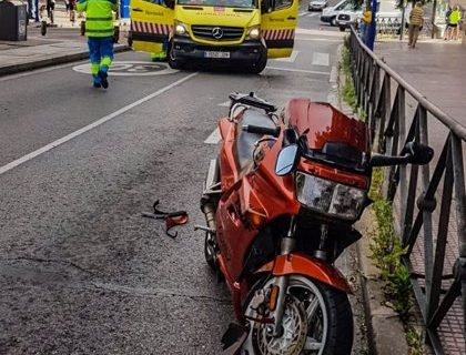 19-06-2021 Motorista atropella a un peatón de 83 años en Leganés POLITICA ESPAÑA EUROPA MADRID EMERGENCIAS 112 COMUNIDAD DE MADRID