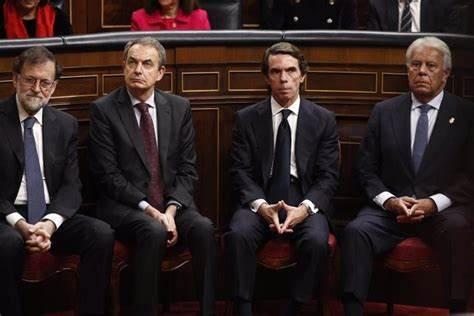 González, Aznar, Zapatero y Rajoy seguirán percibiendo 75.000 euros anuales de los Presupuestos